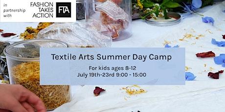 English Textile Arts Summer Day Camp - Leiden, Holland tickets