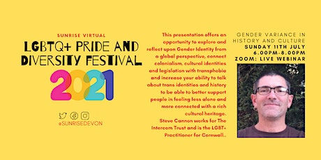 Gender Variance in History and Culture with Steve from Intercom tickets
