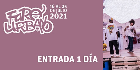 Festival Faro Urbano - entrada Poppin, Hip hop y House 1vs1 entradas