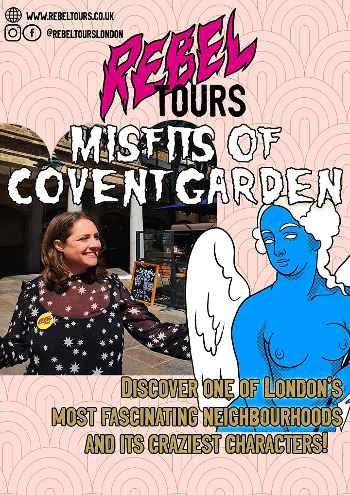 Misfits of Covent Garden walking tour image