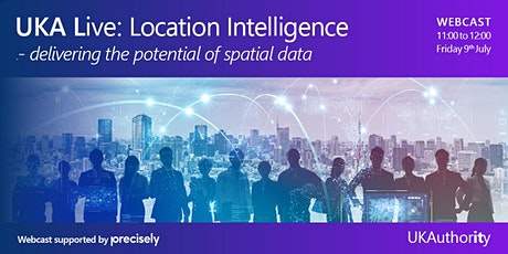UKA Live: Location intelligence – delivering the potential of spatial data tickets