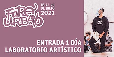 """Festival Faro Urbano - entrada muestra del """"Laboratorio creación artística"""" entradas"""