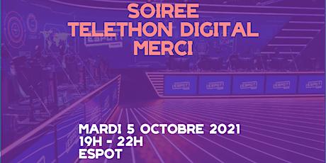 Téléthon Digital : La solidarité à l'ère du numérique billets