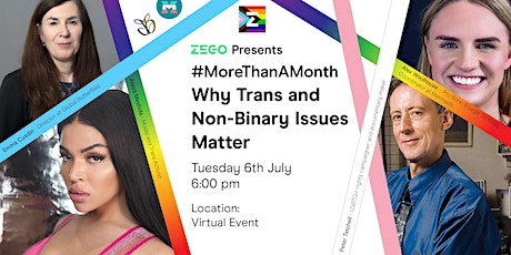 #MoreThanAMonth - Why Trans and Non-Binary Issues Matter (Online) tickets