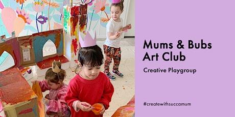 Mums & Bubs Art Club tickets