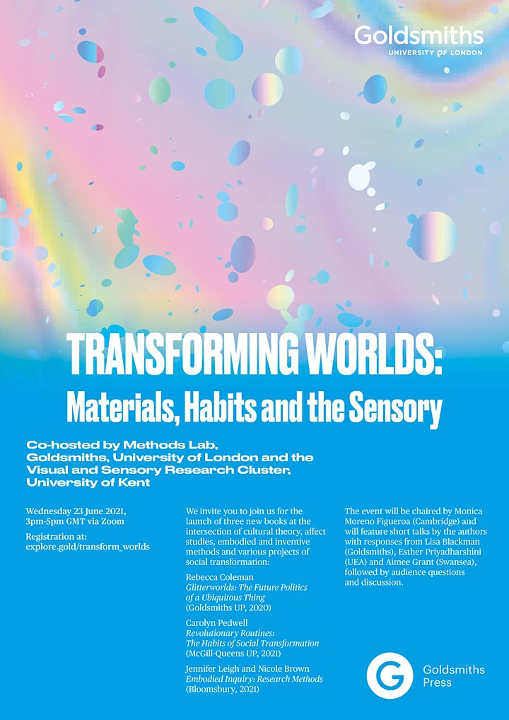 Transforming Worlds: Materials, Habits and the Sensory image