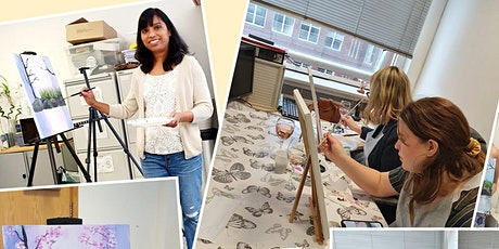 Paint and Sip Class tickets