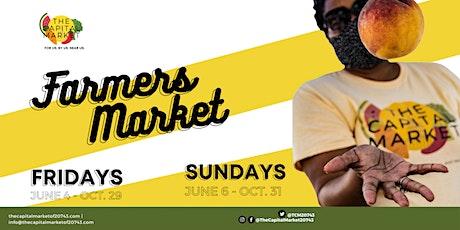 The Capital Market @ Mary & Main (Farmers' Market) tickets