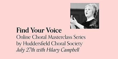 Find Your Voice - July 27th / Hilary Campbell tickets