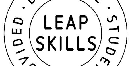 Unite Students' Leapskills Webinar tickets