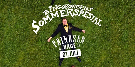 Bingokongens sommerspesial på Prindsen Hage // 19.08 tickets