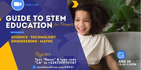 A Parent's Guide To STEM Education {Free Webinar} tickets