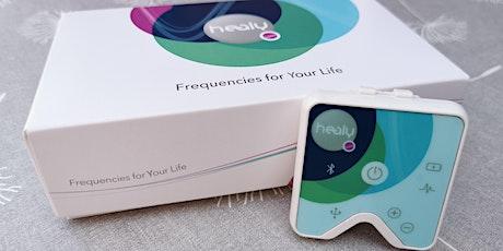 Geef je gezondheid een boost met de juiste frequenties! tickets