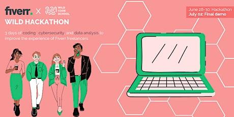 Wild Hackathon avec Fiverr - démo finale billets