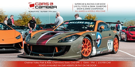 Cars and Camber - Qualifying tickets