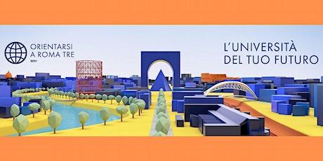 Orientarsi a Roma Tre 2021 - Evento inaugurale billets