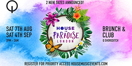 House in Paradise Brunch & Club tickets