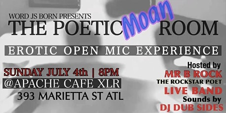 Word Is Born: The Poetic Moan Room tickets