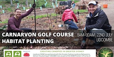 Carnarvon Golf Course Habitat Planting tickets