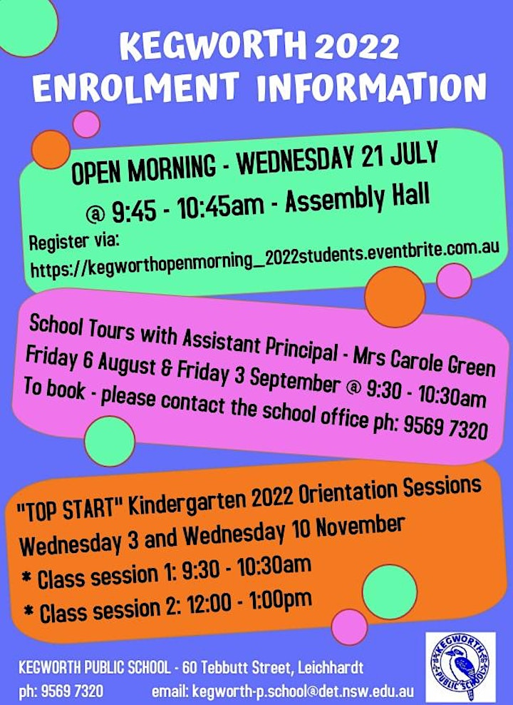 """KEGWORTH - """"OPEN MORNING"""" for STUDENTS ENROLLING in 2022 image"""