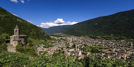 Escursione lungo il Cammino Mariano delle Alpi Teglio - Tirano biglietti
