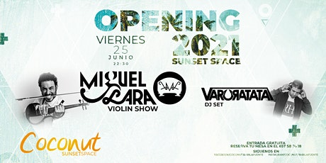 Opening Coconut Sunset Space entradas