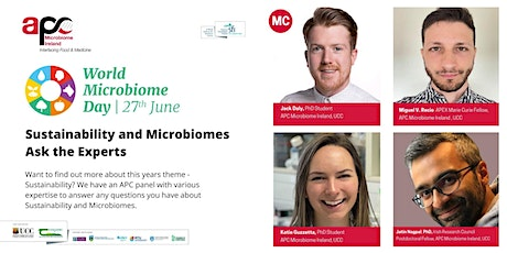 Ask the Expert - Sustainability and Microbiomes tickets
