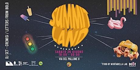 SUMMIT LAND // Super Santos - Un'Estate nel Pallone biglietti