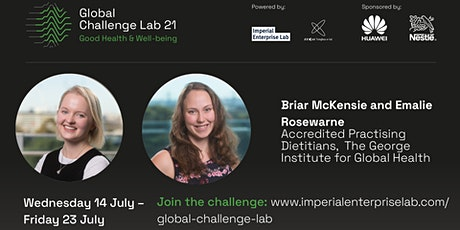 Global Challenge Lab 2021 - Healthy Eating session tickets