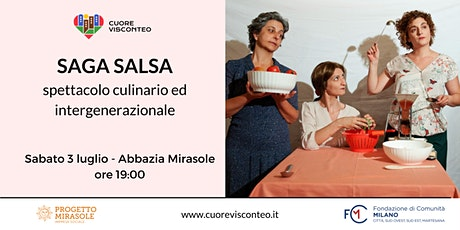 Saga Salsa: spettacolo culinario ed intergenerazionale biglietti