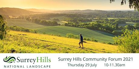 Surrey Hills Community Forum 2021 tickets