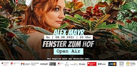 Fenster zum Hof (Open Air) - Alex Mayr Tickets
