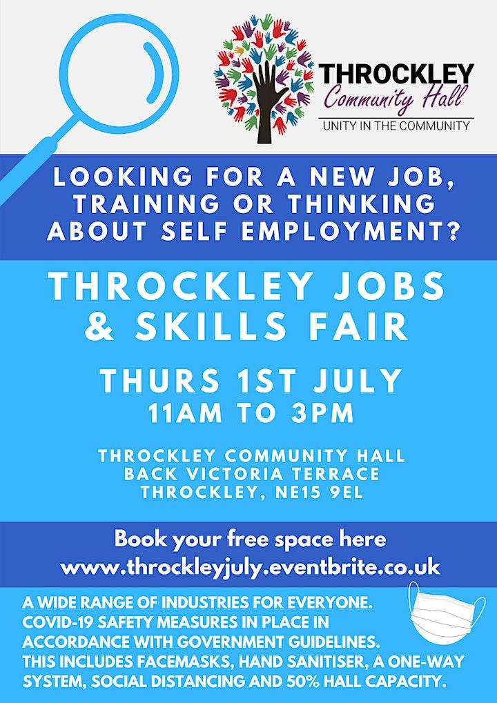 Throckley Jobs, skills  fair image