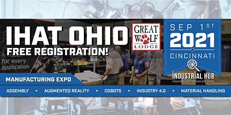 Industrial Hub Assembly & Technology Expo - Cincinnati, Ohio tickets