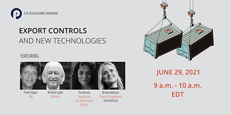 Export Controls and New Technologies tickets