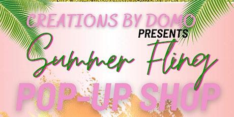 Summer Fling Pop-up shop tickets