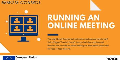 Remote Control: Running an Online Meeting tickets