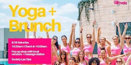 Cafe Namaste at Society: Yoga + Brunch + Massage tickets