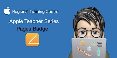 Apple Teacher Series - Pages Badge biglietti