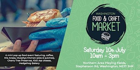 Washington Food & Craft Market & Family Fun Day tickets