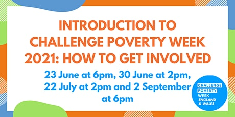Introduction to Challenge Poverty Week: How to get involved tickets