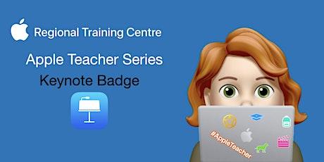 Apple Teacher Series - Keynote Badge biglietti