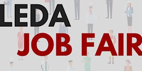 LEDA Job Fair 2021 tickets