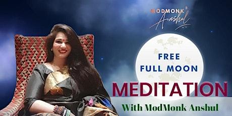 Free Full Moon Meditation Session tickets
