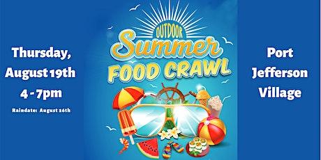 Summer Food Crawl tickets