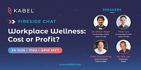 Workplace Wellness: Cost or Profit? - Kabel Fireside Chat tickets