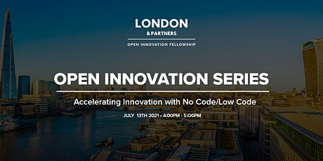 Open Innovation Series - Accelerating Innovation with No Code/Low Code tickets