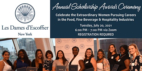 Les Dames d'Escoffier New York Annual Scholarship Awards Ceremony tickets