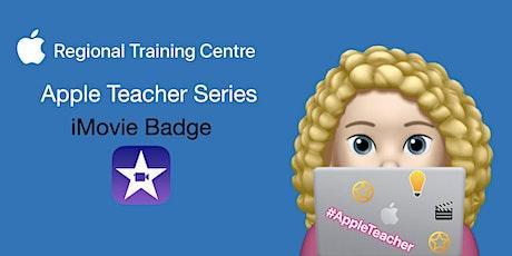 Apple Teacher Series - iMovie Badge tickets