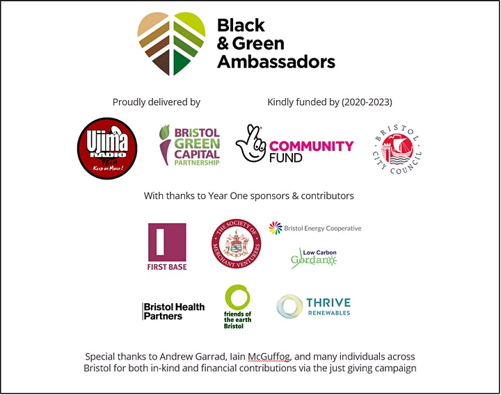 Black & Green Ambassadors - Bristol's Voices image